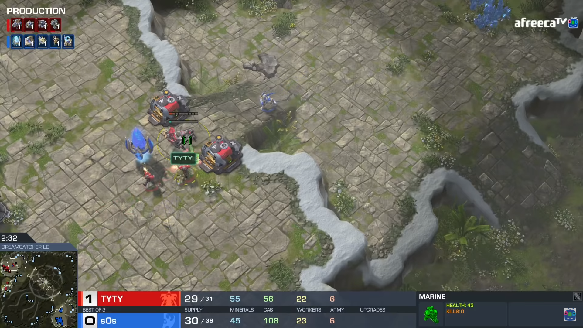 TvP: sOs' Answer to the Proxy Strategy – TerranCraft